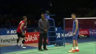 BCA Indonesia Open 2016 | Badminton F M3-MS | Jan O Jorgensen Vs Lee Chong Wei