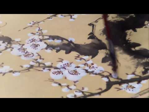 Chinese Traditional Art Cherry Blossom Paintings