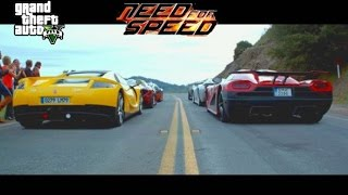 GTA V :Need for Speed Movie La Carrera DeLeon