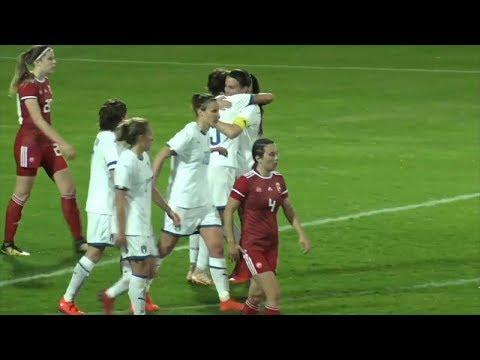 Highlights: Ungheria-Italia 0-3 - Femminile (01 marzo 2019)