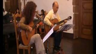 Maurice JARRE † Mourir à Madrid † (Guitar duet) ~ Fabienne Durruty & Takashi Iwagami
