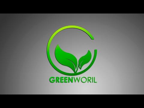 Logo Design |  Illustrator cc Tutorial | ( Green World ) By Sahak