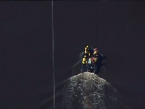 Raw: Rescue Boats Patrol NC Flood Waters