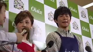 アンジャッシュの渡部建が26日、イベントに出席。妻で女優の佐々木希...