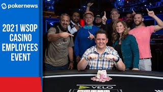 2021 WSOP Opens With The Casino Employees Event