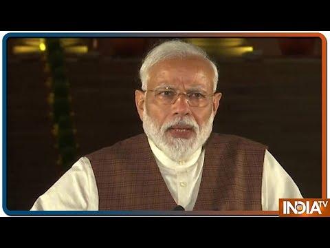 PM Modi Addresses The Media At Rashtrapati Bhavan