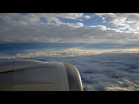 WING VIEW - Japan Airlines JL17 | Vancouver to Tokyo Narita | Boeing 787-8