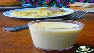 Соус сырно-чесночный