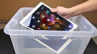 iPad Pro Water Test - Waterproof or Water Resistant?(iPad Pro Water Test in 1 Foot Deep Water! Just How Water Resistant or Waterproof Is It? Warning, NOT for the weak of heart! Follow me on Instagram ..., 2015-11-21T18:16:48.000Z)