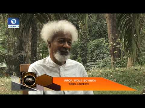 Exclusive: Nobel Laureate; Wole Soyinka Hosts Channels Bookclub Pt 1