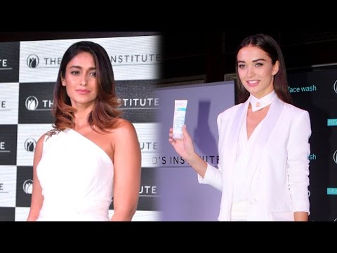 Pond's host skincare innovations with Ileana D'cruz & Amy Jackson | Gorgeous Bollywood actresses