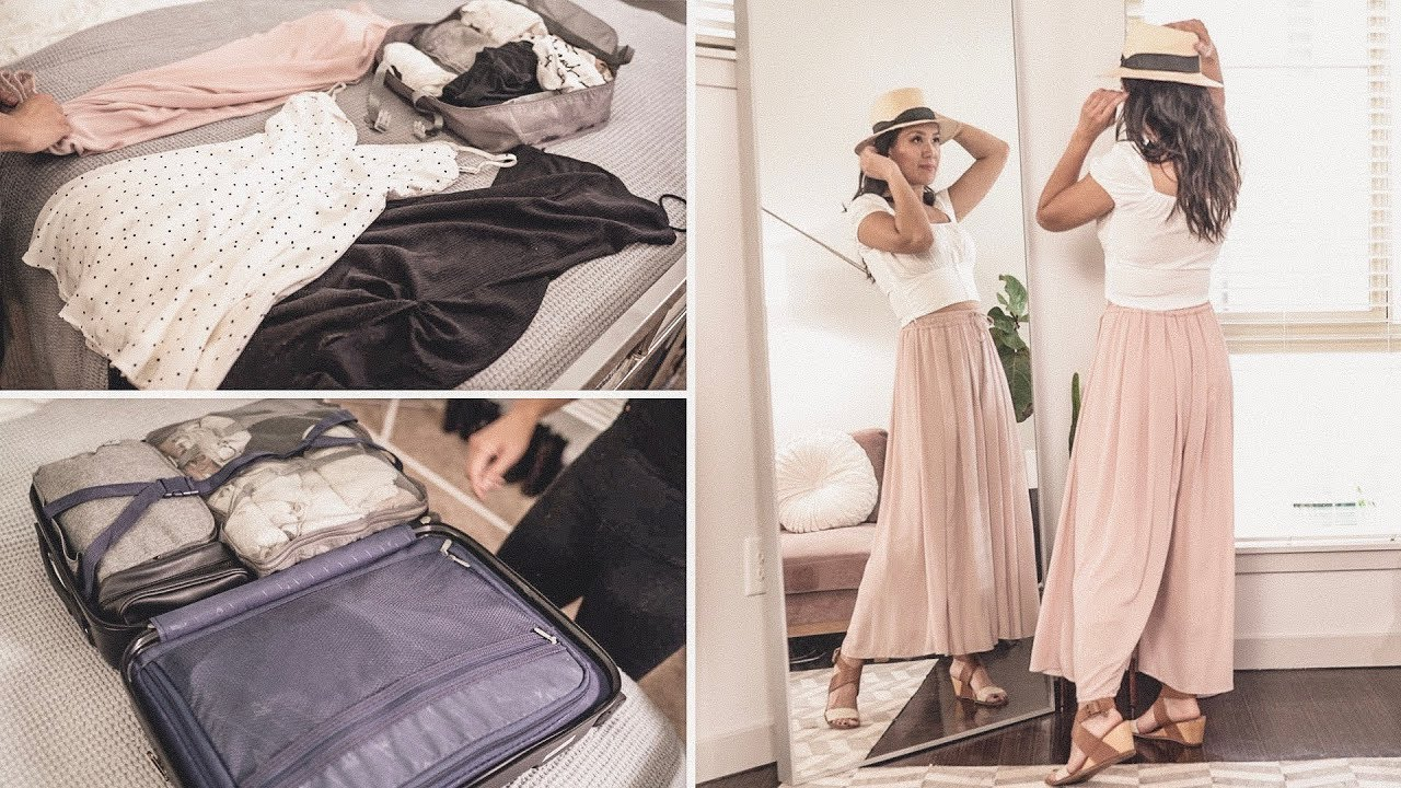 How I MAXIMIZE my Weekend TRAVEL OUTFITS + IDEAS to PACK LESS | ANN LE 1