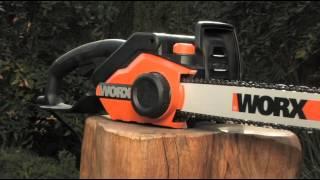 WORX Electric Chain Saw WG303 16-Inch 3.5 HP