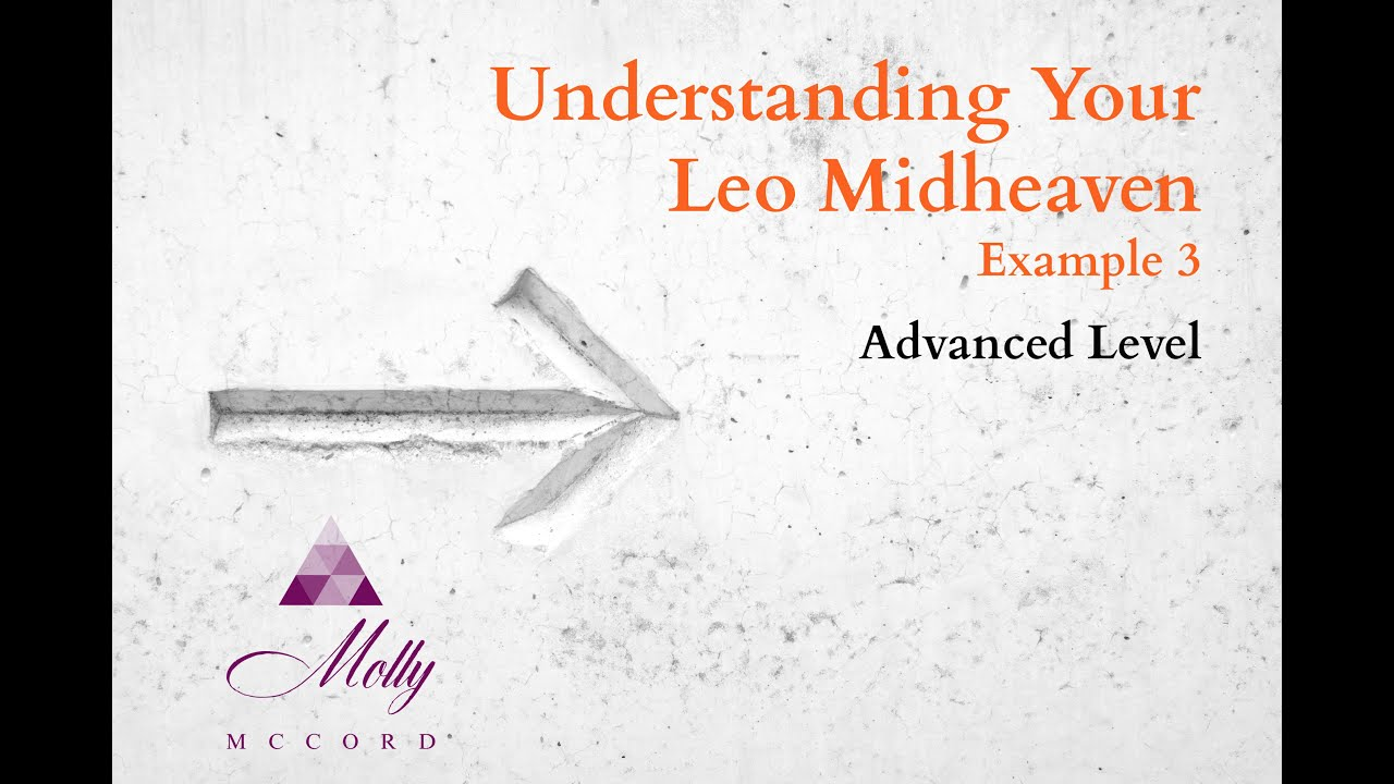 Leo Midheaven 3 / Advanced level / Understanding Your Astrology Chart