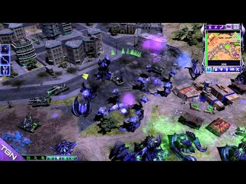 C&C Tiberium Essence beta 1.6 Mod On Scrin Level 3 HD