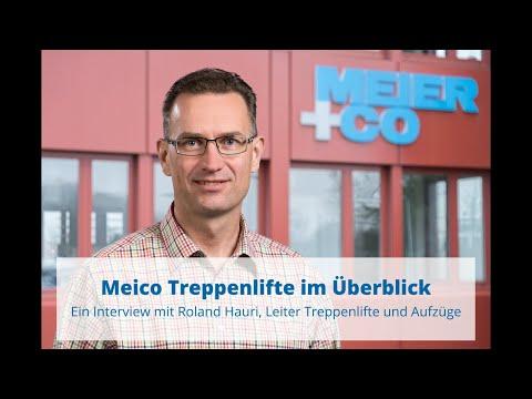 Treppenlifte von Meico | Die wichtigsten Fragen beantwortet im Interview mit Roland Hauri