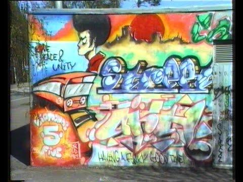 Helsinki Graffiti 1989 - Street Bombing
