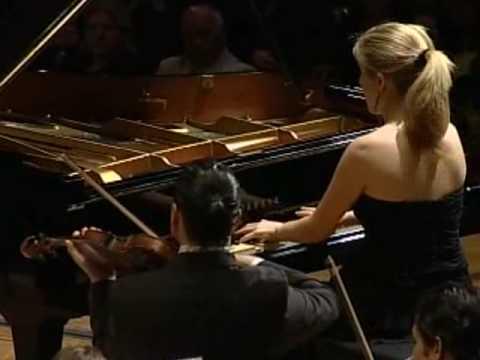 Gabriela Martinez, Gustavo Dudamel, Rachmaninoff piano concerto No 3 OSJSB 2007 1 of 5