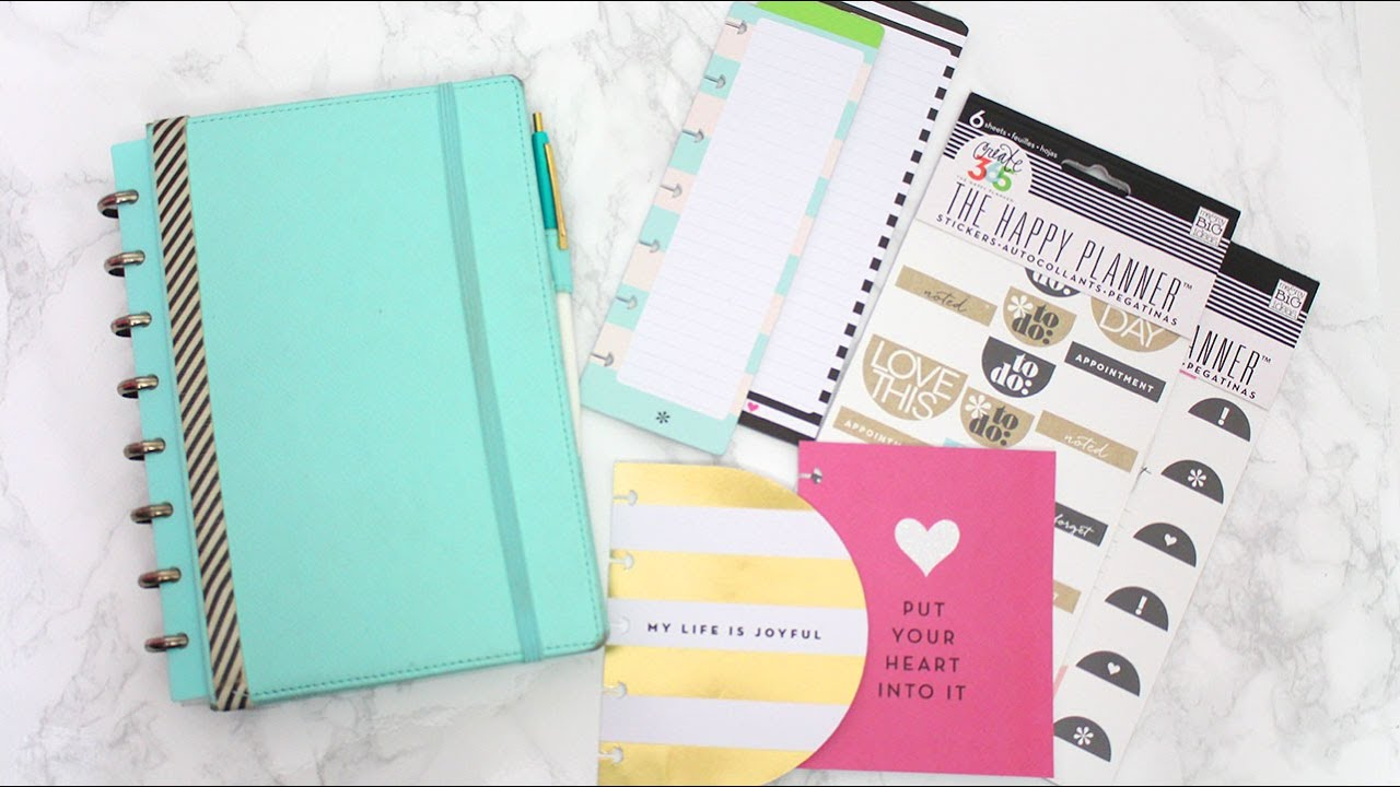 Planner Accessories Related Keywords & Suggestions - Happy Planner ...