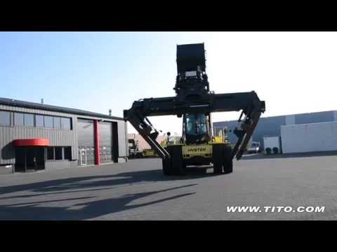 Tito.com // Used Reach Stacker Hyster RS46-36CH Spreader View