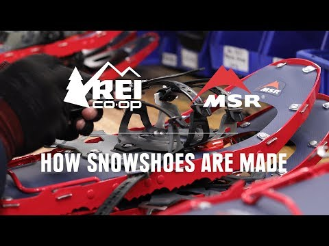 How Snowshoes Are Made || REI
