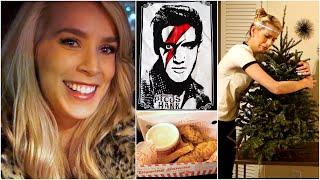 Bowie Elvis Night + UNdecorating ♡ Weekend Vlog 5.2 Thumbnail