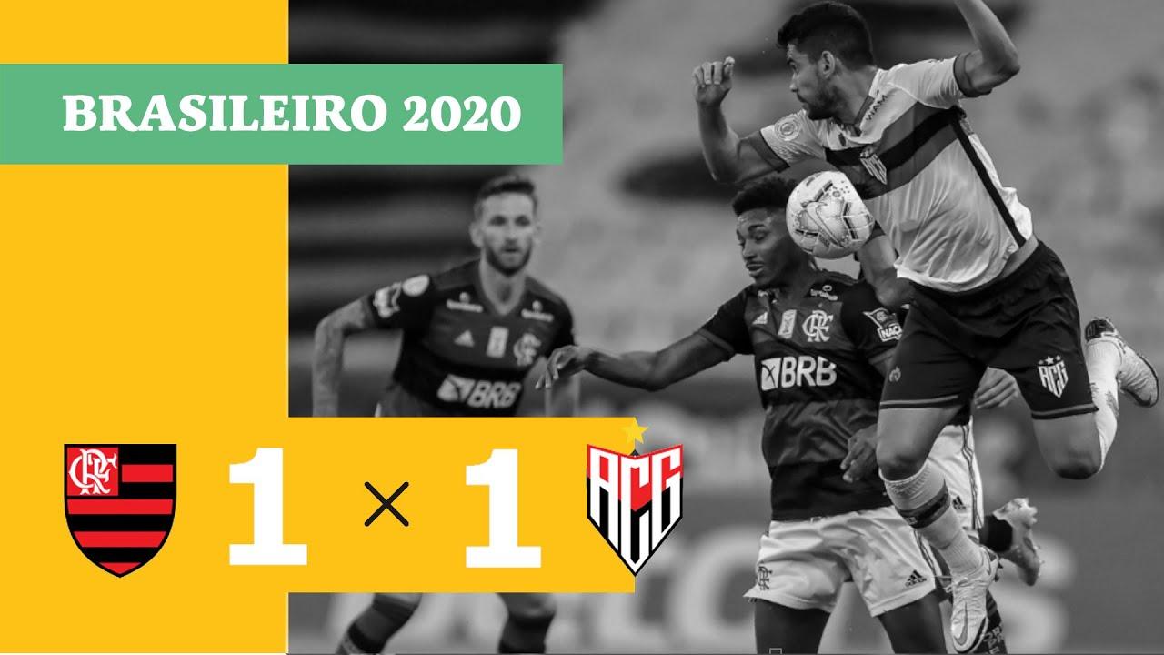 Фламенго  1-1  Атлетико Гояниенсе видео