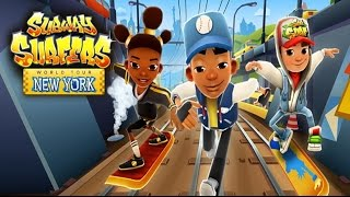 Subway Surfers: New York - Samsung Galaxy S6 Edge Gameplay