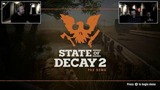 State of Decay 2 story talk with Cale Schupman!