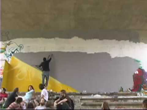 Ohio University School Of Art Visiting Graffiti Artist