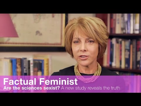 Are the sciences sexist? A new study reveals the truth | FACTUAL FEMINIST