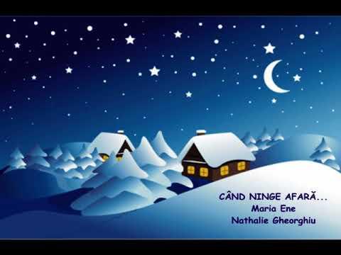 cantece de iarna si Craciun – Rogvaiv – Cand ninge afara