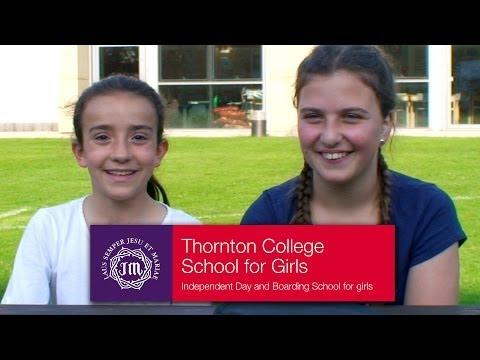 Thornton College Boarding - Why girls choose international boarding at Thornton College school.