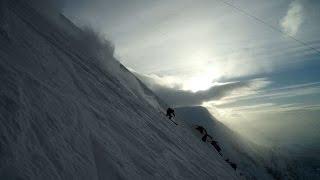10752_ Aiguille du Midi Glacier Rond Chamonix hors pistes pente raide