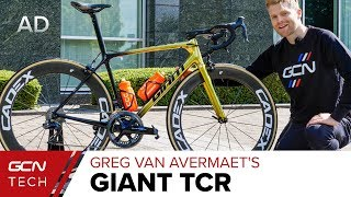 Greg Van Avermaet's Giant TCR Advanced SL | Tour de France 2019 Pro Bike