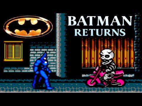 Batman: прохождение (walkthrough) Batman Returns (NES, Famicom, Dendy)