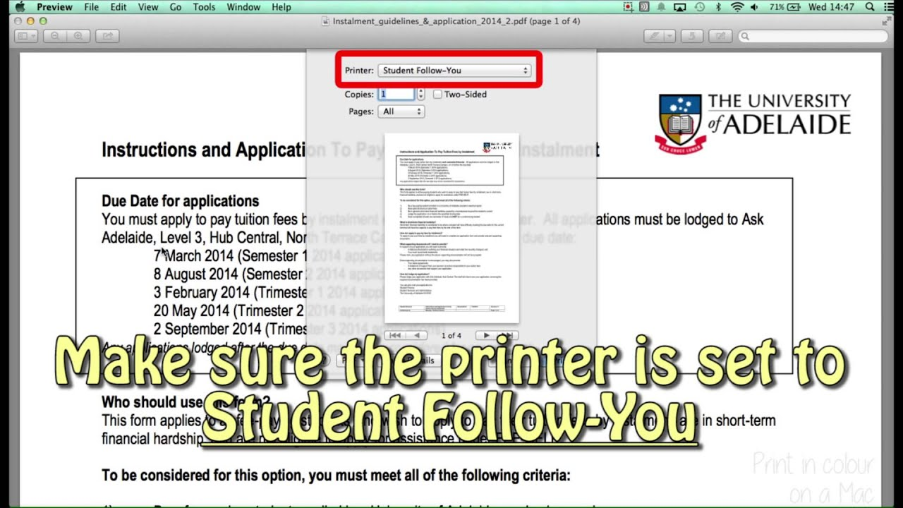 mac colour printing student followyou youtube