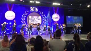 UNIVERSITY OF KENTUCKY HIP HOP UDA NATIONAL DANCE TEAM CHAMPIONSHIP 2016