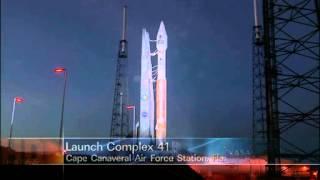 Atlas V Rocket Launch Countdown