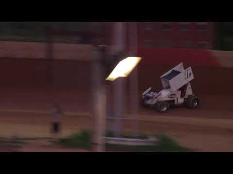 Trail-Way Speedway 358 Sprint Car Highlights 7-21-17