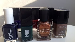Top Fall Nail Polish Picks ♡ Essie, Butter London, Deborah Lippman, More!!! Thumbnail