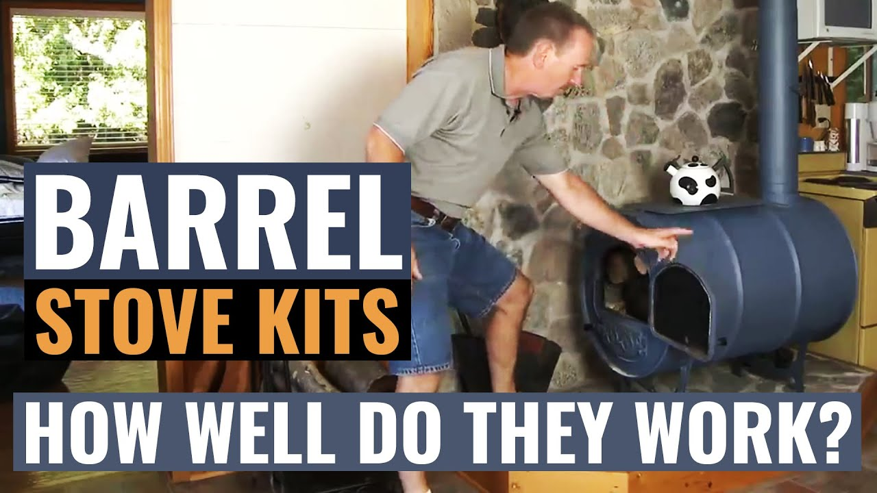 NorthlineExpress.com demonstrates the Barrel Stove Kits by Vogelzang. Great value