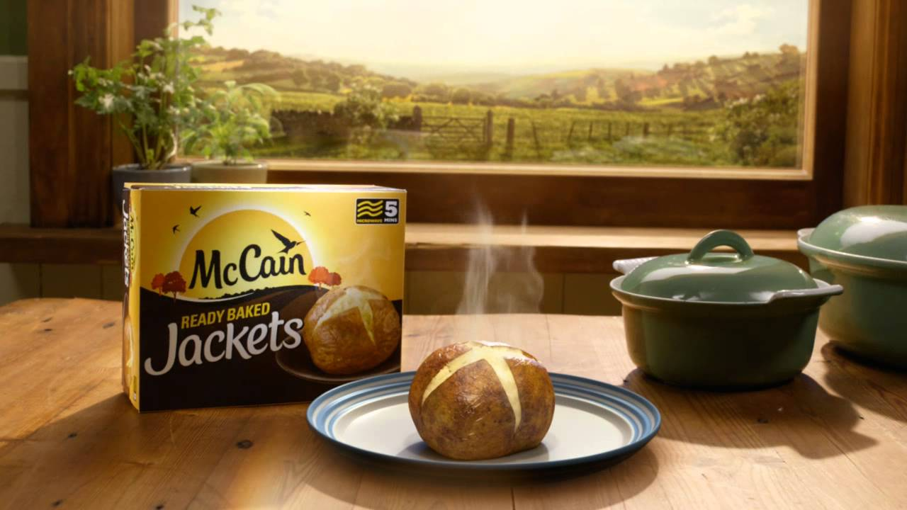 Mccain Jackets Only Takes 5 Minutes To Bake