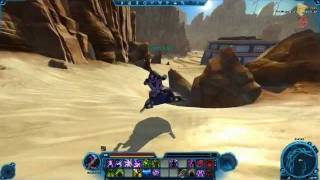 SWTOR - Sith Inquisitor/Imperial Agent quest on Tatooine