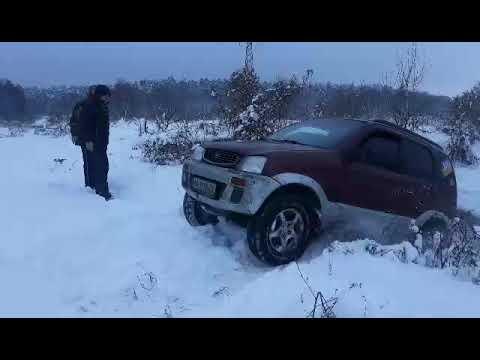 Дайхатсу Териос бездорожье  DAIHATSU Terios 4х4 оффроад Toyota Rush