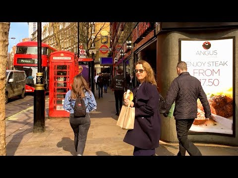 LONDON WALK | Charing Cross Road from Garrick Theatre to Tot