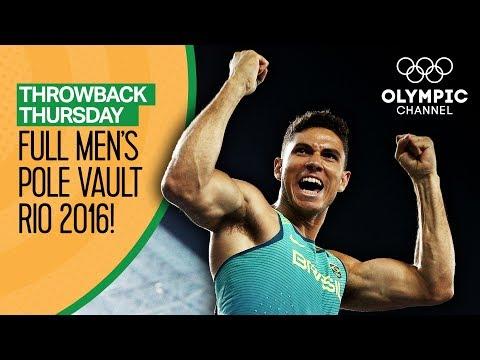 Full Men's Pole Vault Final - Rio 2016 | Throwback Thursday