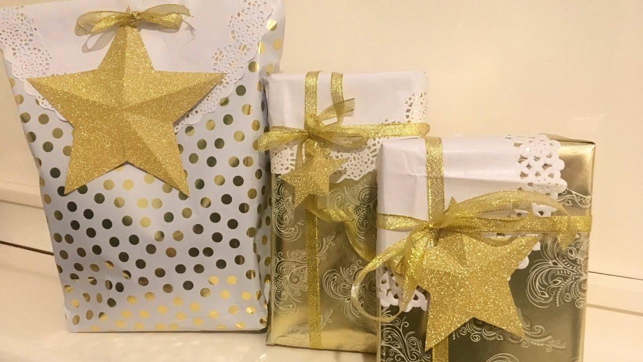 C mo envolver regalos f cil y original youtube - Envolver regalos de forma original ...