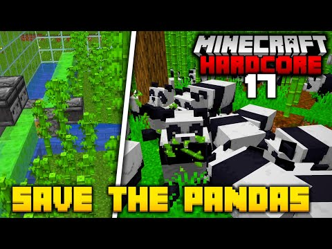 Saving Pandas from Extinction in Hardcore Minecraft (#17)