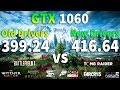 NVIDIA Drivers 399.24 vs 416.64 Hotfix on GTX 1060
